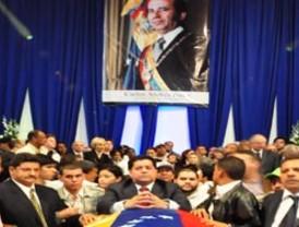 Simpatizantes se congregaron para despedir al expresidente Pérez