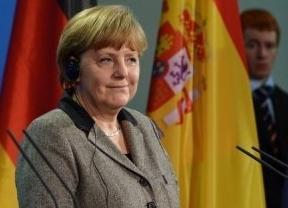 Merkel maniobra ya en la sombra para colocar a su 'tapada' al frente de la Comisión