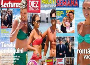 Iker Casillas y Sara Carbonero esperan un niño, portada en las revistas del corazón