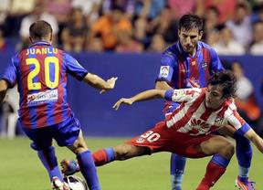 Levante y Atlético se duermen en el partido de (casi) madrugada en Valencia (1-1)