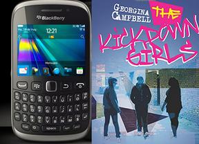 Con un par... de teclas: una británica escribe una novela con su Blackberry