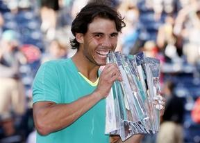La mejor cura, levantar títulos: Nadal conquista su tercer Indian Wells
