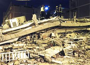 Imagen del terremoto de Lorca