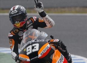Márquez suma su segunda victoria del año en un final de infarto con Espargaró