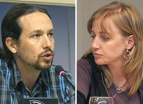 Tania Sánchez y Pablo Iglesias anuncian su ruptura como pareja