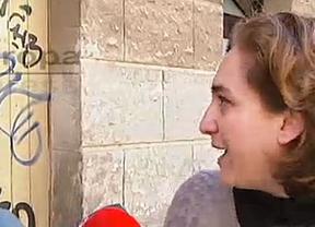 Ada Colau estudia denunciar a Cifuentes por vincular a la Plataforma de Afectados por la Hipoteca con ETA