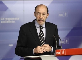 Rubalcaba pide que se depuren responsabilidades por la hecatombe de la banca