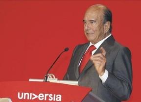 Botín pone 'precio' a los bancos en crisis: 40.000 millones de la UE acabarían con los problemas