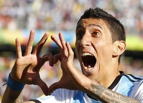 La suerte fue argentina: un gol de Di María en el último suspiro clasifica a la albiceleste ante Suiza (1-0)