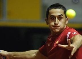 Copa Davis: Almagro supera en dos sets el trámite ante Kazajistán (5-3 y 6-4)