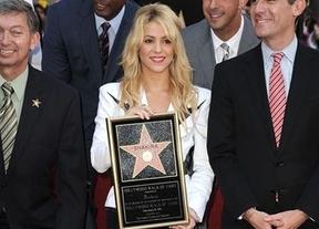 Shakira ya tiene su estrella en Hollywood