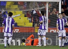 El Valladolid se suicida en el último minuto ante el Levante con un gol en propia puerta