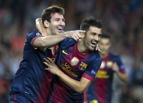 Messi vuelve a rescatar a un Barça que estuvo contra las cuerdas frente al Spartak (3-2)