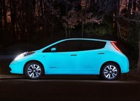 Nissan presenta el primer coche que brilla en la oscuridad