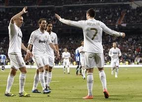 El Real Madrid golea a la Real Sociedad y recupera la normalidad (5-1)