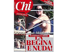 Berlusconi, culpable de las fotos de Kate Middleton desnuda