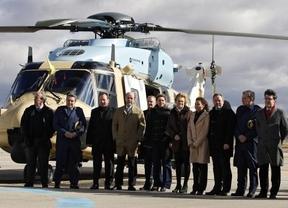Eurocopter realiza el vuelo inaugural del primer helicóptero tigre ensamblado en la factoría de Albacete