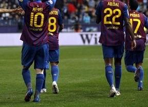 El Málaga cae rendido a los pies de Messi (1-4)