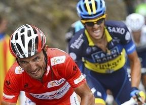 'Purito' Rodríguez aguanta de nuevo los ataques de Contador en el Cuitu Negro; el italiano Cataldo se lleva la etapa