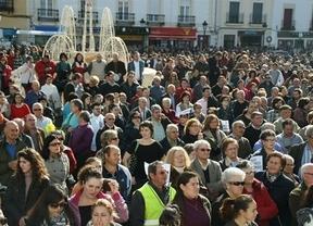 Miles de personas rechazan la privatización del hospital de Tomelloso