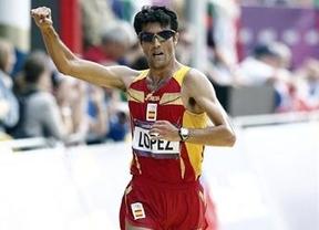 España sigue teniendo 'marcha': Miguel Ángel López, bronce en los 20 kilómetros
