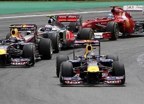 Webber le quita el podio de Brasil a Vettel y arrastra a Alonso hasta el cuarto puesto