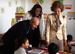 Wert inaugura con la Reina el curso escolar en Murcia, mientras se cancela su acto en Zaragoza por temor a incidentes