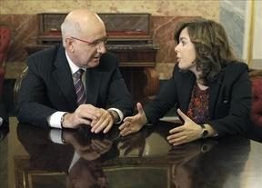 Sáenz de Santamaría y Duran i Lleida se reúnen para buscar salidas al desafío soberanista