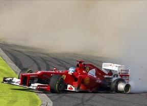 Alonso 'regala' el triunfo en Suzuka a Vettel
