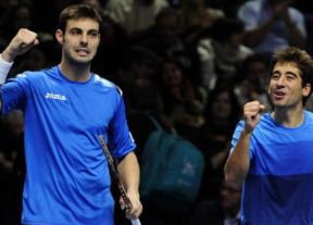 Marcel Granollers y Marc López se convierten en maestros del doble al ganar la Copa Masters