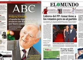 La Semana de Aznar contra Rajoy