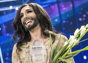 Conchita Wurst conquista Europa pero no las redes sociales