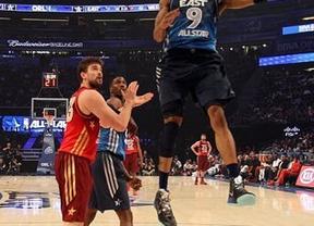 Marc Gasol debutó en el All-Star de la NBA con triunfo y 4 puntos