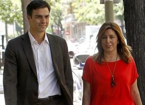 El nuevo 'dúo dinámico' del PSOE: Susana Díaz presidirá el Congreso Extraordinario a propuesta de Pedro Sánchez
