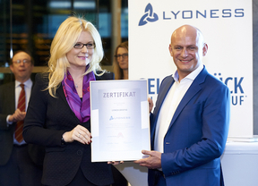 La compañía Lyoness AG recibe el prestigioso certificado de calidad