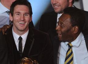 'O rey' lo tiene claro: Pelé prefiere a Messi antes que a Cristiano porque
