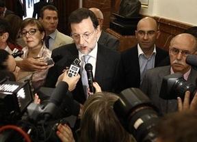 Rajoy vuelve a los corrillos