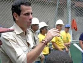 Capriles insiste en que las primarias de la oposición se harán este año