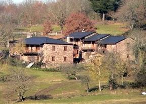 El precio medio de las casas rurales baja un 4,1% en 2013