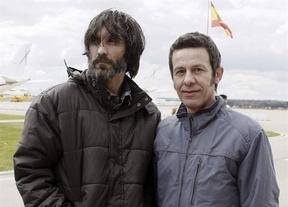 Espinosa y García Vilanova ya están en casa, pero quedan otros 30 periodistas secuestrados en Siria