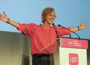 Rosa Díez acusa al PSOE de