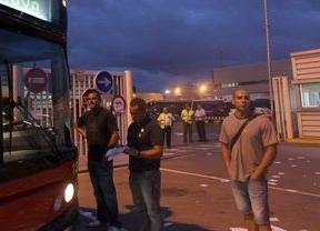 Algunos incidentes y detenciones durante la jornada de huelga de transportes en Madrid y Barcelona