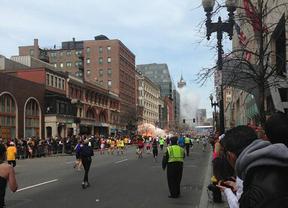 Un toledano corría en la maratón de Boston: 'Por veinte minutos no me ha pillado'