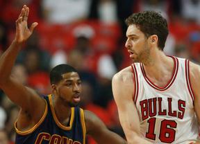 Sin Gasol, lesionado, no son nada: nueva derrota de los Bulls ante Cavaliers que ya dominan la serie