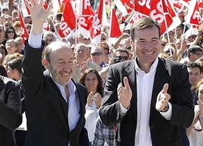 La paz que no llega: recadito de Tomás Gómez a Rubalcaba, al que le cuenta los votos