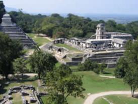INAH restaura piezas mayas de Palenque