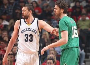 Los Gasol siguen haciendo historia en la NBA: Marc, elegido en el primer equipo y Pau, en el segundo