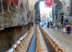 Inician una campaña contra las sillas de pago en la procesión del Corpus de Toledo