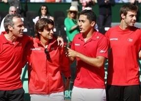 Ferrer y Almagro lideran al equipo español para la Copa Davis sin el 'emblema' Nadal