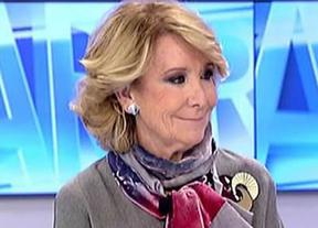Ahora sí, Aguirre zanja el tema: si es alcaldesa no se presentará al próximo Congreso del PP en Madrid